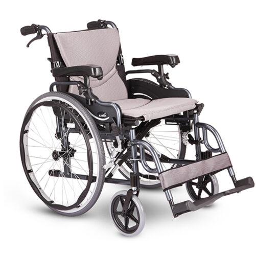 台灣品牌Karma KM-2580 高承重手推輪椅