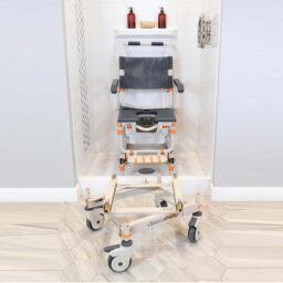 紐西蘭品牌SHOWERBUDDY移動式企缸洗澡座便椅