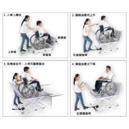 台灣品牌AIDBASE HKEL-980(S) 輪椅升降台