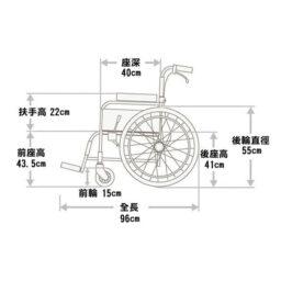 日本品牌Miki ET-22骨科腳架輪椅