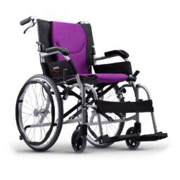 台灣品牌Karma KM-8598多功能手推輪椅