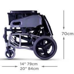 台灣品牌Karma KM-TR2(14)高背輪椅