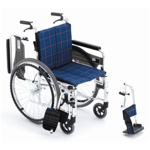 日本品牌Miki RD47JL-P多功能手推輪椅