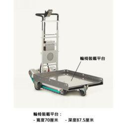 意大利ZONZINI DOMINO PEOPLE HK 獨家代理上貨400 kg樓梯搬運樓梯機